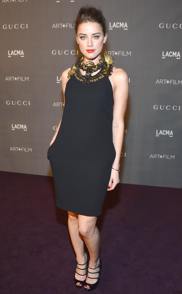 LACMA Gala, Amber Heard