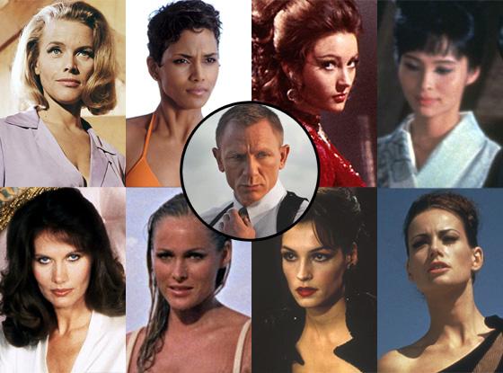 Bond Girls, Daniel Craig, Skyfall
