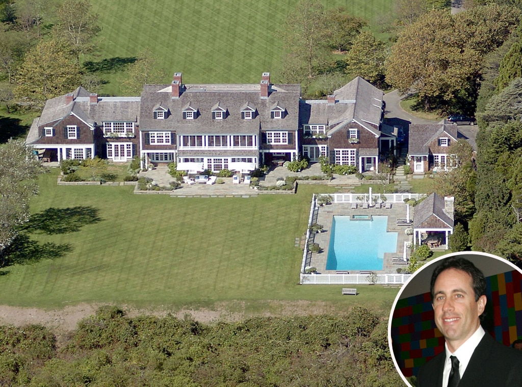 Jerry Seinfeld from Celebrity Homes in the Hamptons | E! News