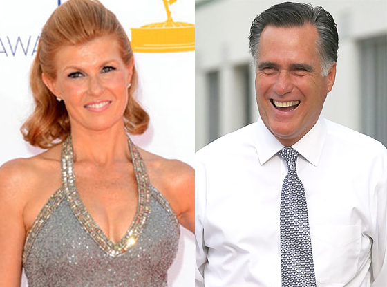 Connie Britton, Mitt Romney