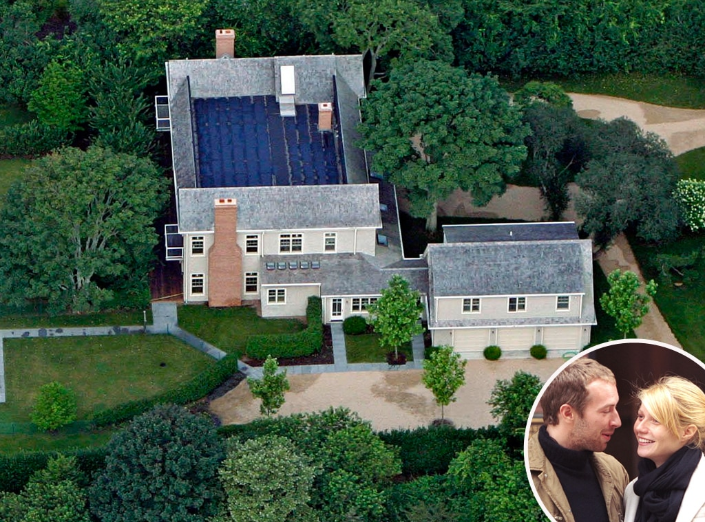 Chris Martin, Gwyneth Paltrow, East Coast Homes