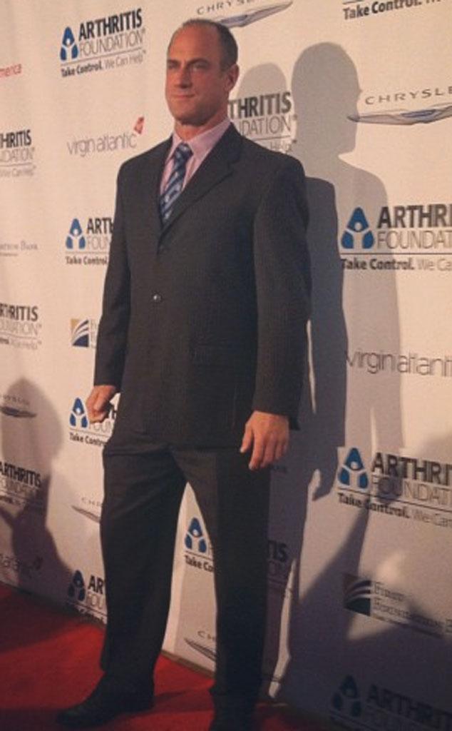 Christopher Meloni, Twit Pic