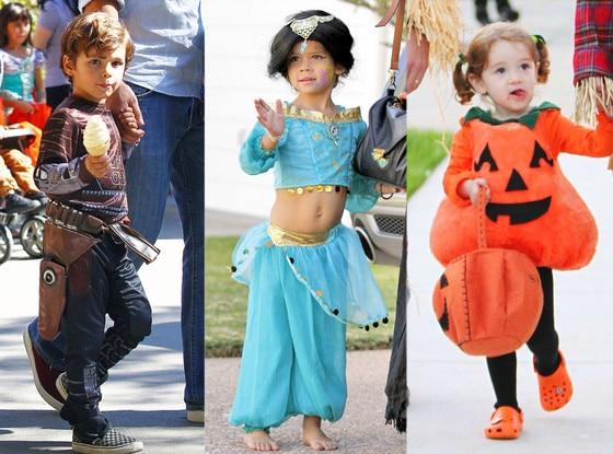 Jake Cibrian Honor Warren Satyana Denisof  sc 1 st  E! News & Adorable Alert! 16 Celeb Kids in Halloween Costumes | E! News
