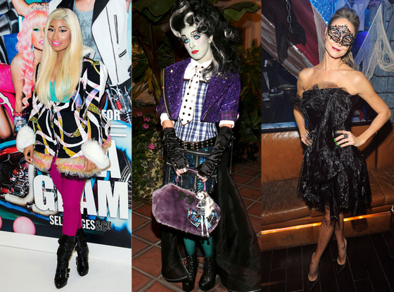 Real Life or Halloween: Nicki Minaj, Shenae Grimes, Stacy Keibler