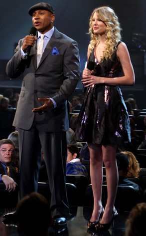 Rapper LL Cool J, Taylor Swift