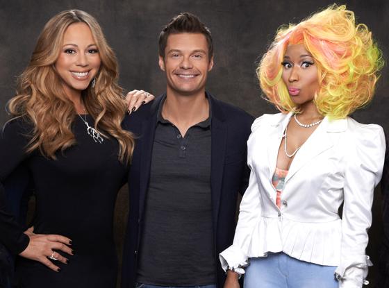 American Idol, Mariah Carey, Ryan Seacrest, Nicki Minaj