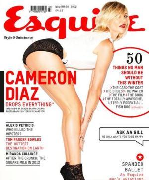 Cameron Diaz by Esquire UK