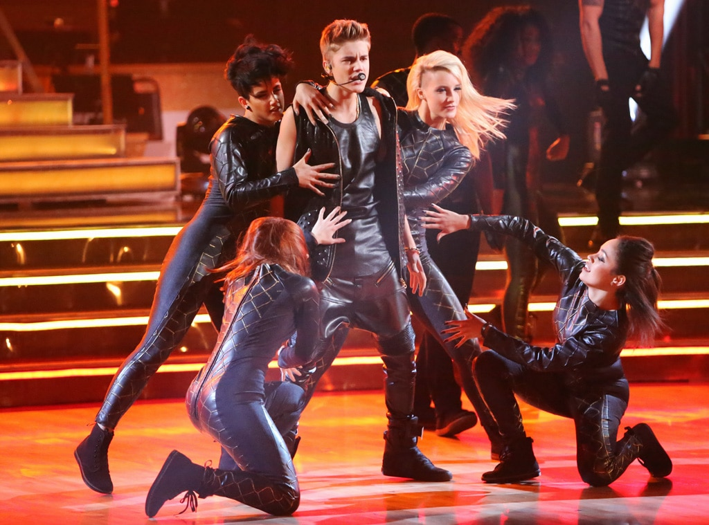 Justin Bieber, Dancing with the Stars Performance