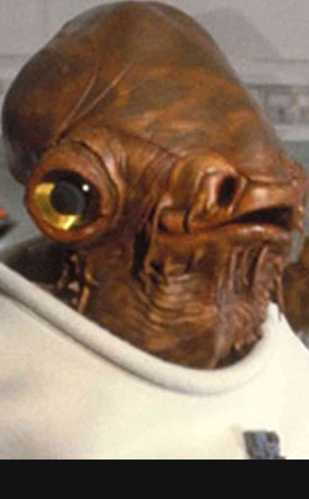 Admiral Ackbar, Star Wars, Best Aliens