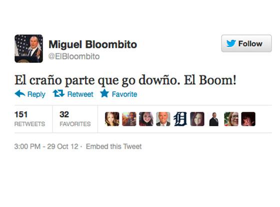 El Bloombito Tweets