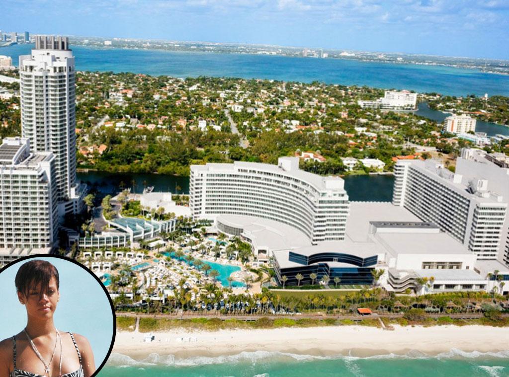 Fontainebleau, Miami Beach, Rihanna