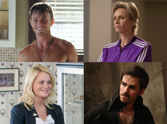 Jane Lynch, Glee, Colin O'Donoghue, Once Upon a Time, Amy Poehler, Parks and Rec, Wilson Bethel, Hart of Dixie