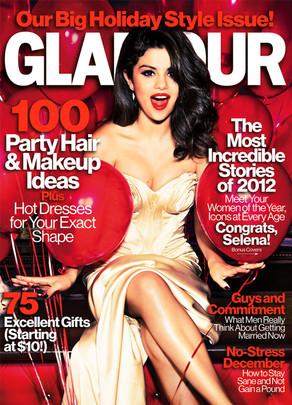Selena Gomez, Glamour Magazine Cover