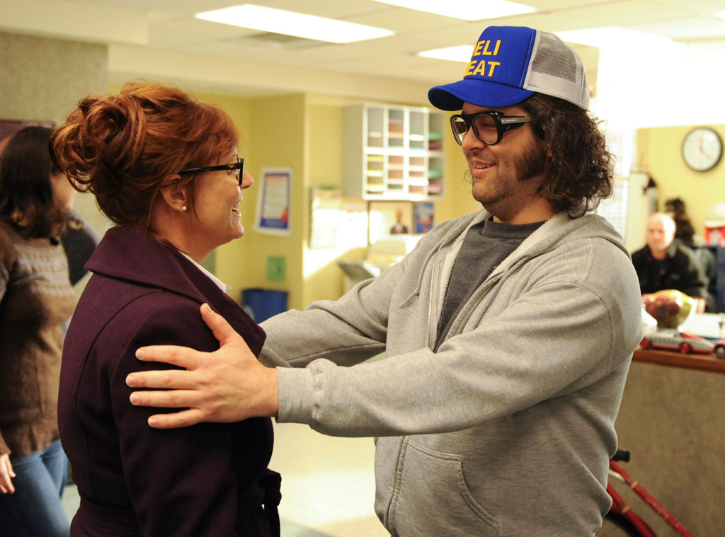 Susan Sarandon, Judah Friedlander, 30 Rock