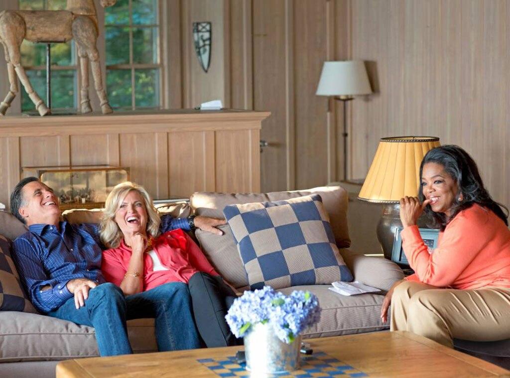 Oprah Winfrey, Ann Romney, Mitt Romney