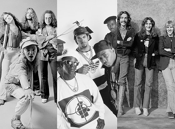 Rush, Public Enemy, Deep Purple