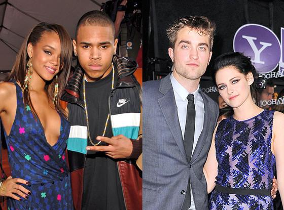Rihanna, Chris Brown, Robert Pattinson, Kristen Stewart