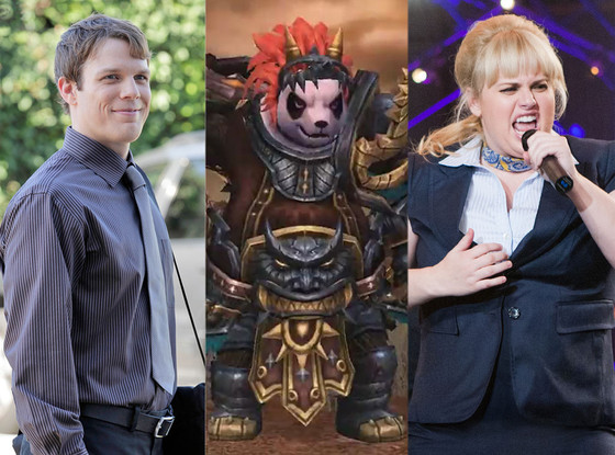 Warcraft Panda Bear, Jake Lacy, Rebel Wilson