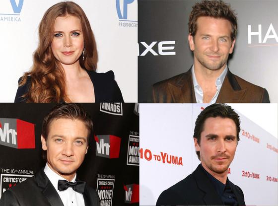 Bradley Cooper, Jeremy Renner, Amy Adams, Christian Bale