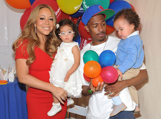 Mariah Carey, Nick Cannon, Monroe Cannon, Moroccan Cannon