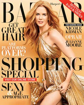 Nicole Kidman, Harper's Bazaar Cover