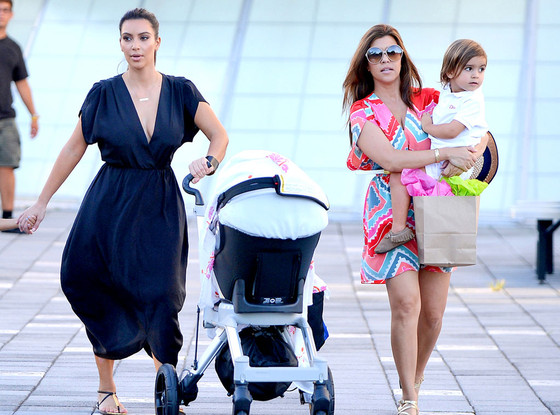 Kim Kardashian, Kourtney Kardashian, Mason Disick