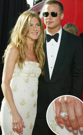 Jennifer Aniston, Brad Pitt, Rings