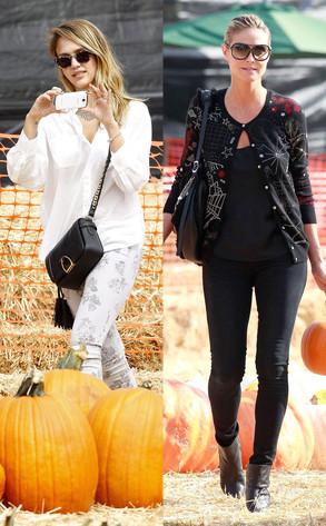 Jessica Alba, Heidi Klum
