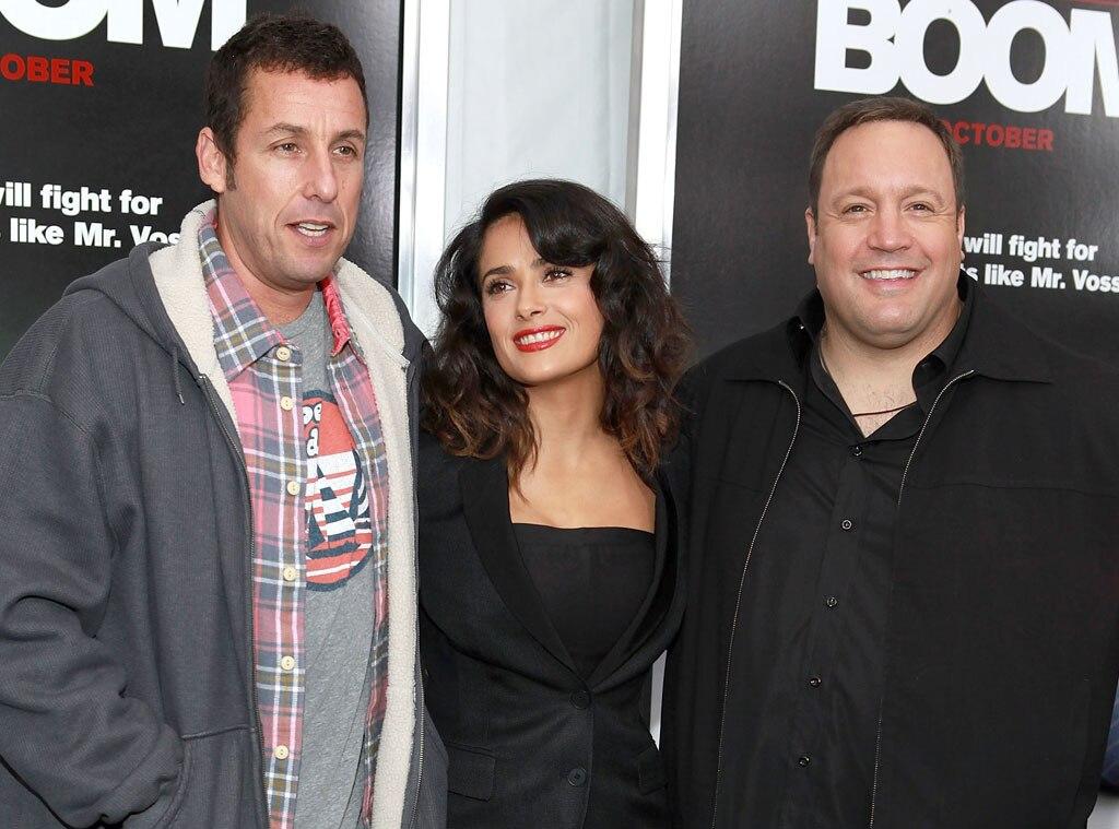 Adam Sandler, Salma Hayek, Kevin James