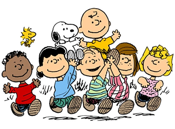 Image result for first peanuts comic strip