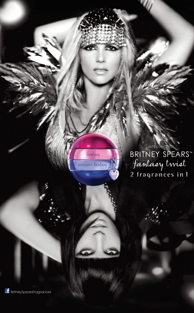 Britney Spears, Fantasy Twist Ad