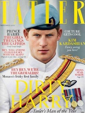 Prince Harry by Tatler