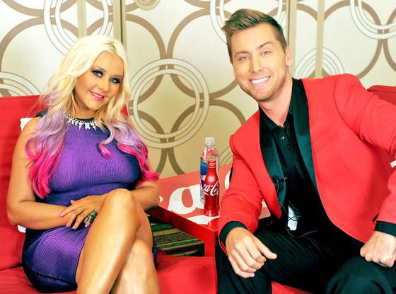 Christina Aguilera, Lance Bass