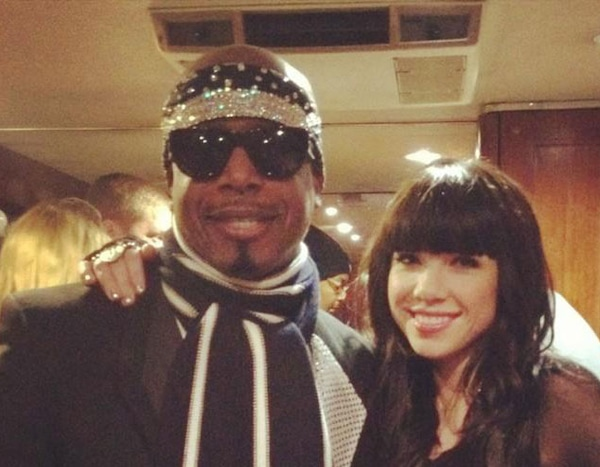 Carly Rae Jepsen from New Year's Eve Twitpics 2012 | E! News