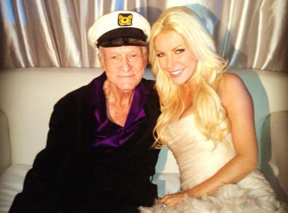 Crystal Harris, Hugh Hefner