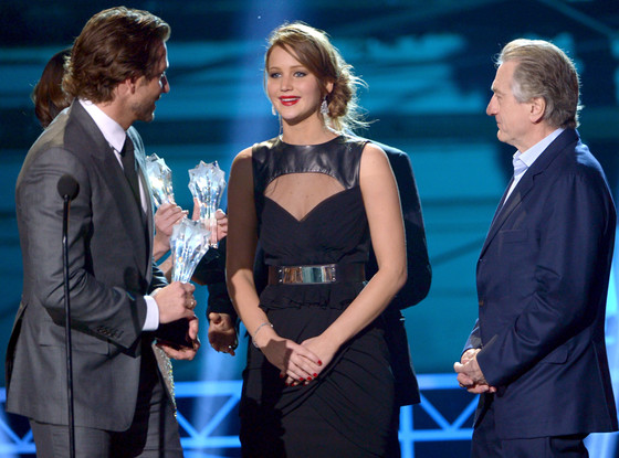 Bradley Cooper, Jennifer Lawrence, Robert De Niro