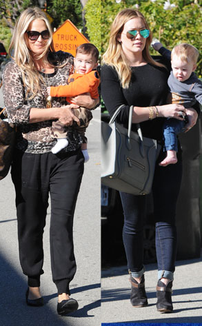 Hilary Duff, Luca, Molly Sims, Brooks Stuber