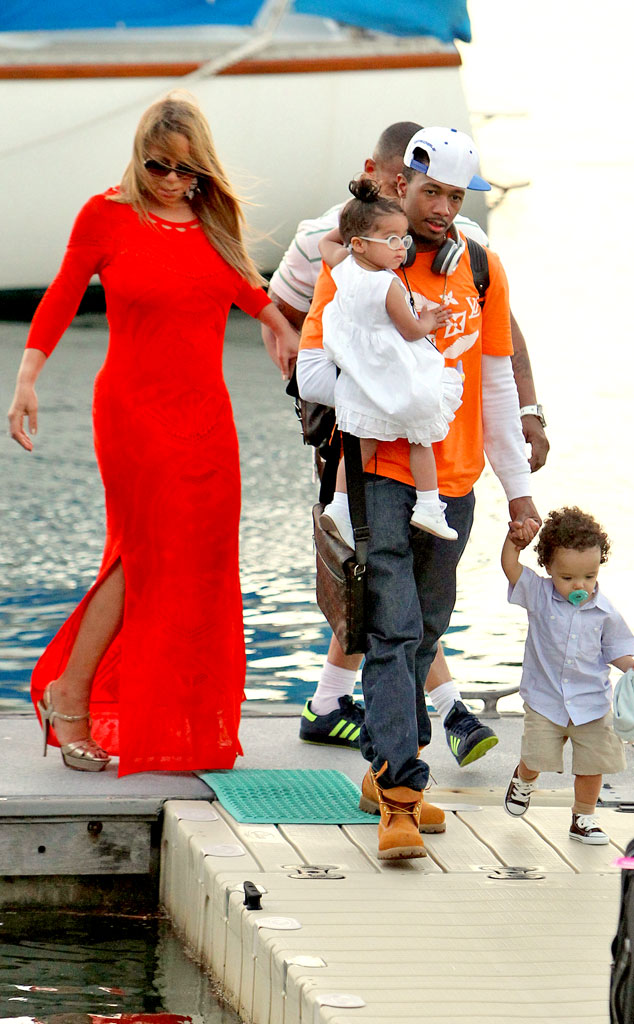 Mariah Carey, Nick Cannon, Monroe, Moroccan
