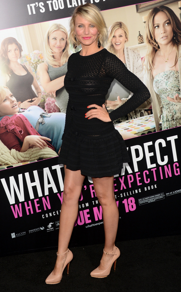 Cameron Diaz, What to Expect Premiere