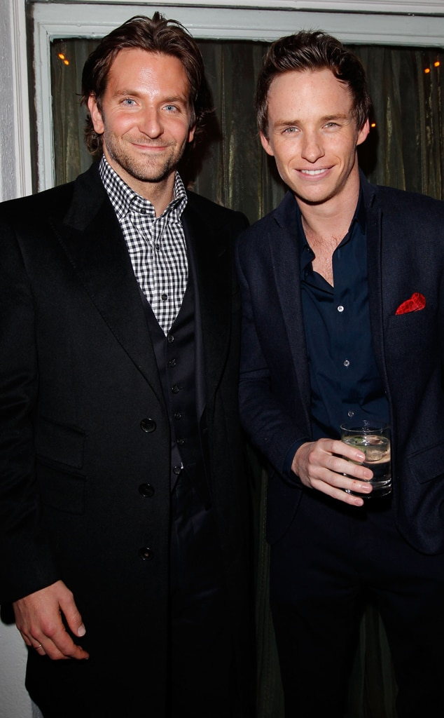 Bradley Cooper, Eddie Redmayne, W Magazine Party