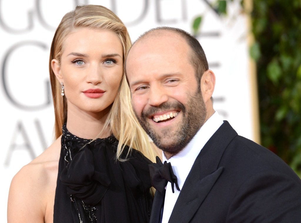 Rosie Huntington-Whiteley, Jason Statham, Golden Globe