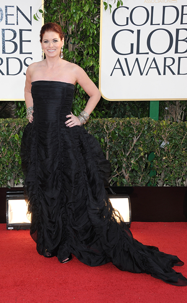 Debra Messing, Golden Globe
