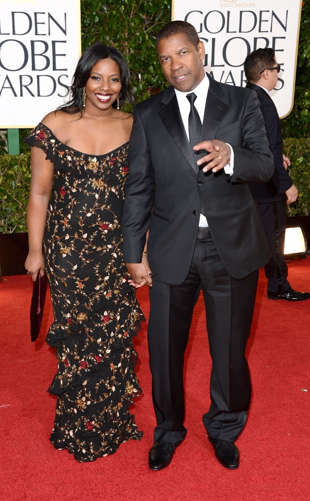 Denzel Washington, Pauletta Washington, Golden Globes