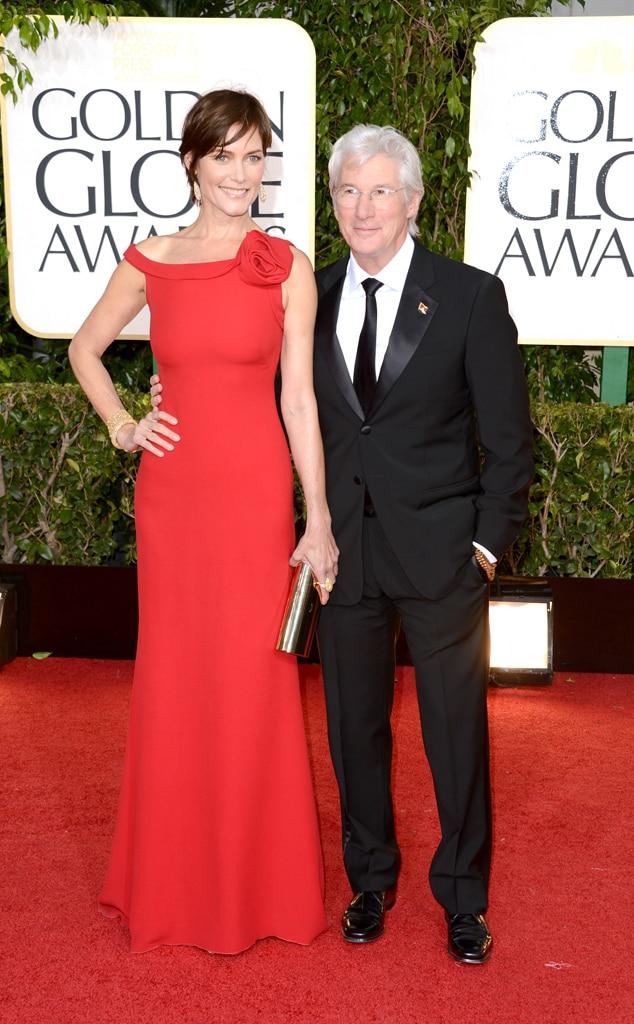 Richard Gere, Carey Lowell, Golden Globe