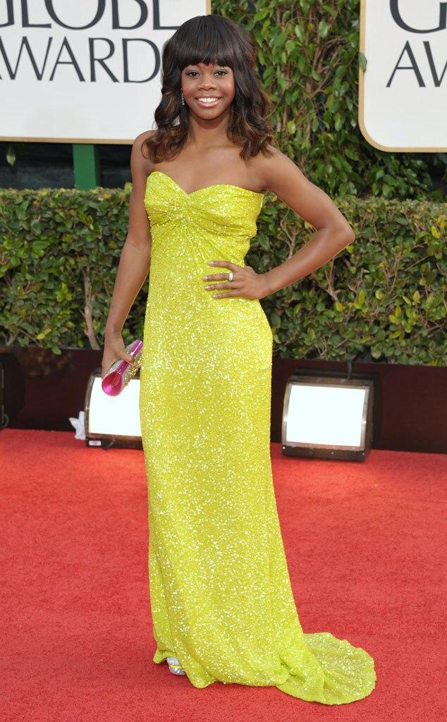 Gabby Douglas, Golden Globes