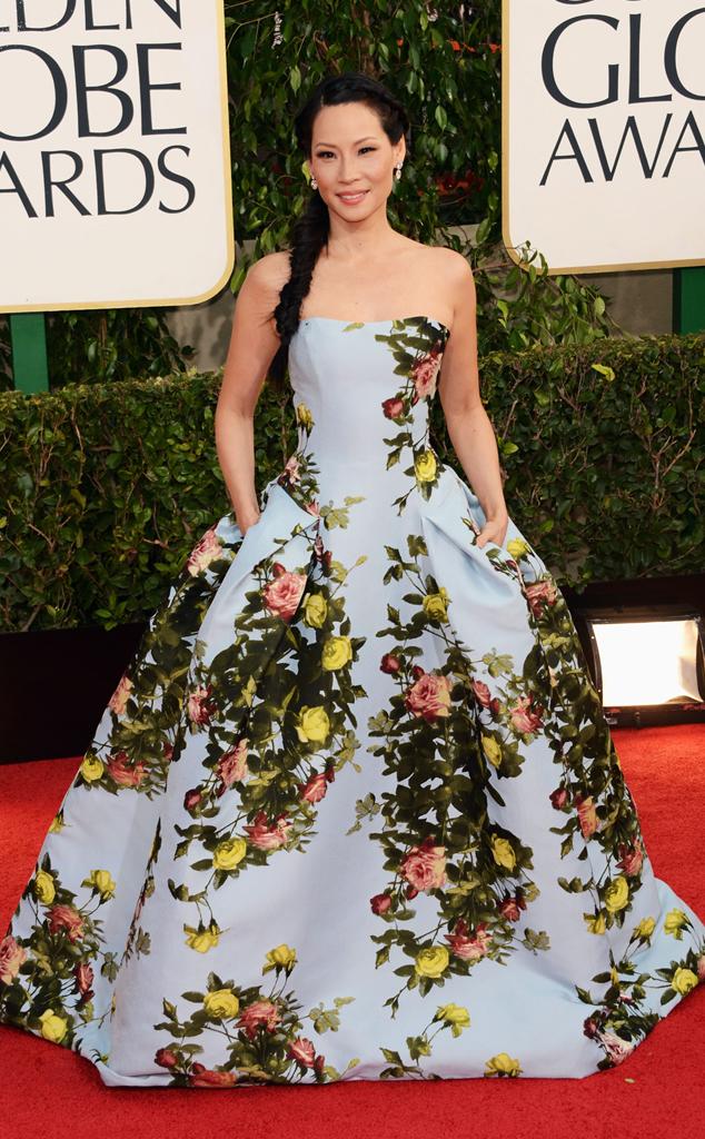 Lucy Liu, Golden Globes