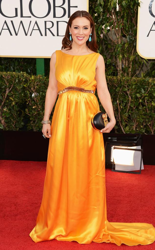 Alyssa Milano, Golden Globes