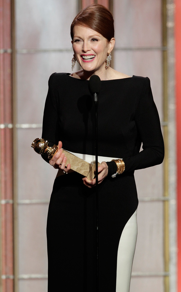Julianne Moore, Golden Globes