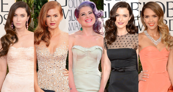Retro Trend: Megan Fox, Isla Fisher, Kelly Osbourne, Rachel Weisz,  Jessica Alba