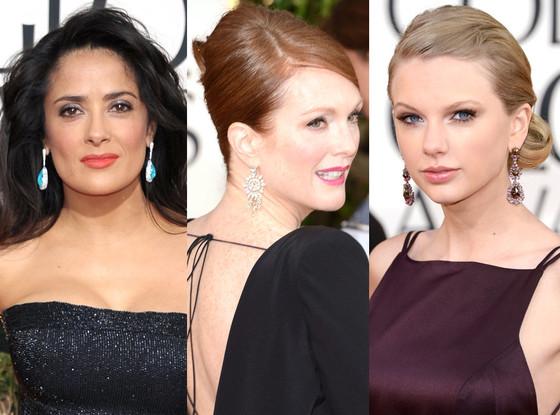 Golden Globes Earrings